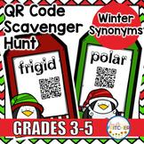 QR Code Scavenger Hunt: Winter Words {FREEBIE}