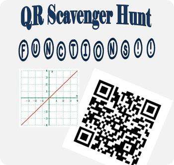 QR Code Scavenger Hunt for Linear Functions!