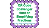 QR Code Scavenger Hunt on Simplifying Fractions