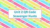 QR Code Scavenger Hunts for Unit 2: Multiplication and Div