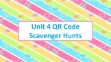 QR Code Scavenger Hunts for Unit 4:  Operations with Fractions