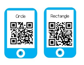 QR Code Shape Videos w/ recording sheet