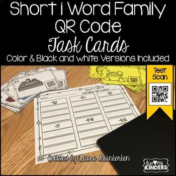 QR Code Short i Word Family Activities