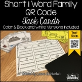 QR Code Short i Word Family Activities