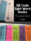 QR Code Sight Word Books