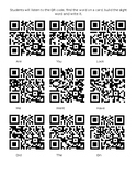 QR Code Sight Word Literacy Center