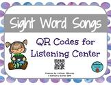 QR Code Sight Word Songs