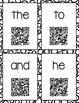 QR Code Sight Word Videos Task Cards FREEBIE