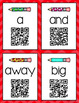 QR Code Sight Word Videos Task Cards for Pre-K Words #seve