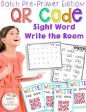 QR Code Sight Word Write the Room Activities