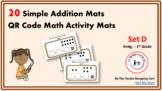 QR Code Simple Addition Activity Mats (Set D)