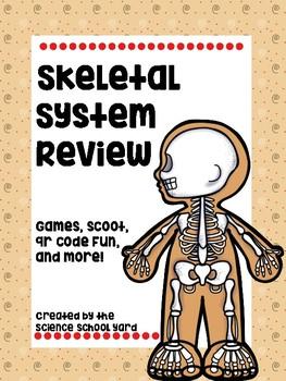 Skeletal System Review Games Pack