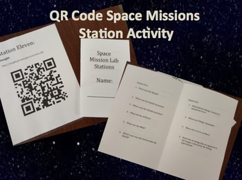 QR Code Space Mission Stations