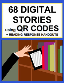 Reading Literature Handouts + QR Code Story Book Bundle for EVERY K-3 CCSS
