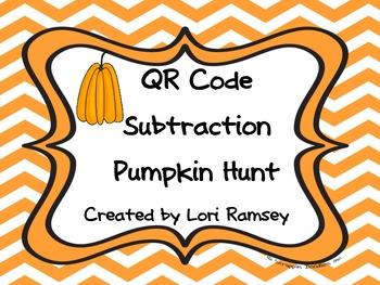 QR Code Subtraction Pumpkin Hunt