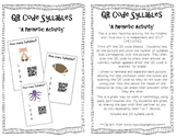 QR Code Syllables {A Phonetic Activity}