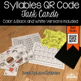 QR Code Syllables Task Cards