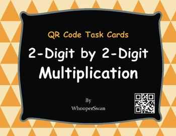 QR Code Task Cards: 2-Digit by 2-Digit Multiplication