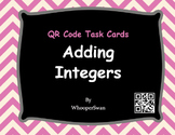 QR Code Task Cards: Adding Integers