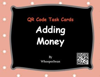 QR Code Task Cards: Adding Money