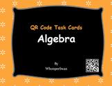 QR Code Task Cards: Algebra