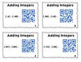 QR Code Task Cards: Bundle Pack - Integers