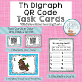 Th Digraph QR Code Task Cards