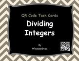 QR Code Task Cards: Dividing Integers