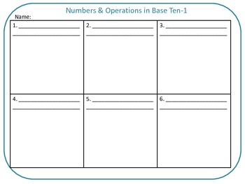 QR Code Task Cards Grade 5 Numbers and Operations in Base Ten-Set 1