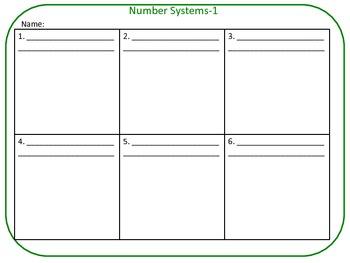 QR Code Task Cards Grade 6 Math -- Seven Sets -- Common Core Aligned