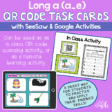 Long A QR Code Task Cards