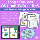 Long E ee ea QR Code Task Cards