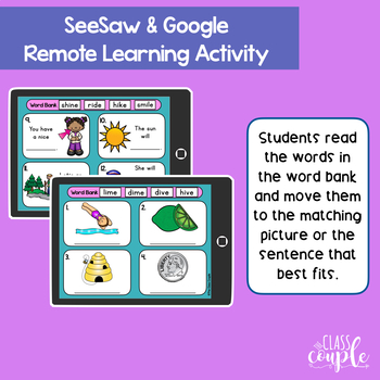 Long Vowel QR Code Task Card Bundle