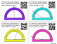 QR Code Task Cards: Measuring Angles With a Protractor