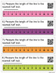 QR Code Task Cards: Measuring to the Half and Quarter Inch {With Line Plots}