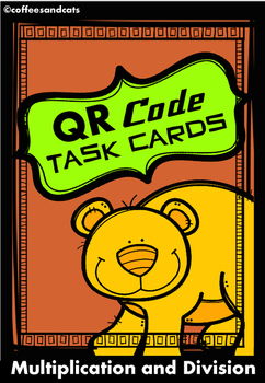 QR Code Task Cards Multiplication/Division