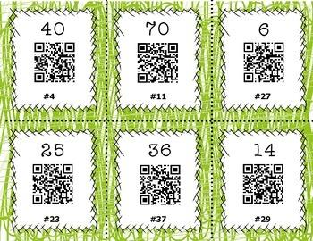 QR Code Task Cards - Multiplication Set 3