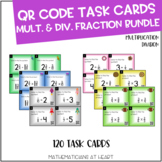 QR Code Task Cards: Multiplication and Division of Fractions