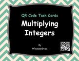 QR Code Task Cards: Multiplying Integers