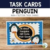 Literacy Centers: January | Penguins QR Codes Nonfiction T