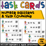 QR Code Task Cards: Super Skip Counting (Continuing Number