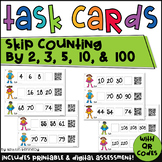 QR Code Math Task Cards: Skip Counting