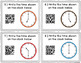QR Code Task Cards: Telling Time to the Hour and Half-hour