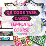 QR Code Task Cards Templates Course