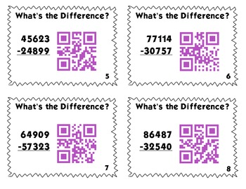 QR Code Task Cards: What's the Difference?