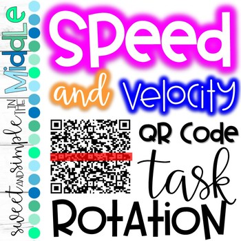 QR Code Task Rotation on Speed and Velocity