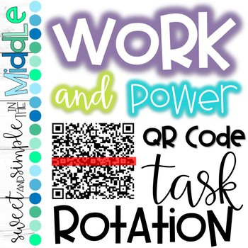 QR Code Task Rotation on Work and Power