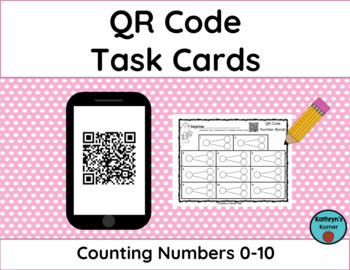QR Code Task for Numbers 0-10