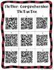 QR Codes Tic-Tac-Toe Reading Comprehension-Fiction & Non-Fiction