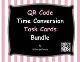 QR Code Time Conversion Task Cards Bundle